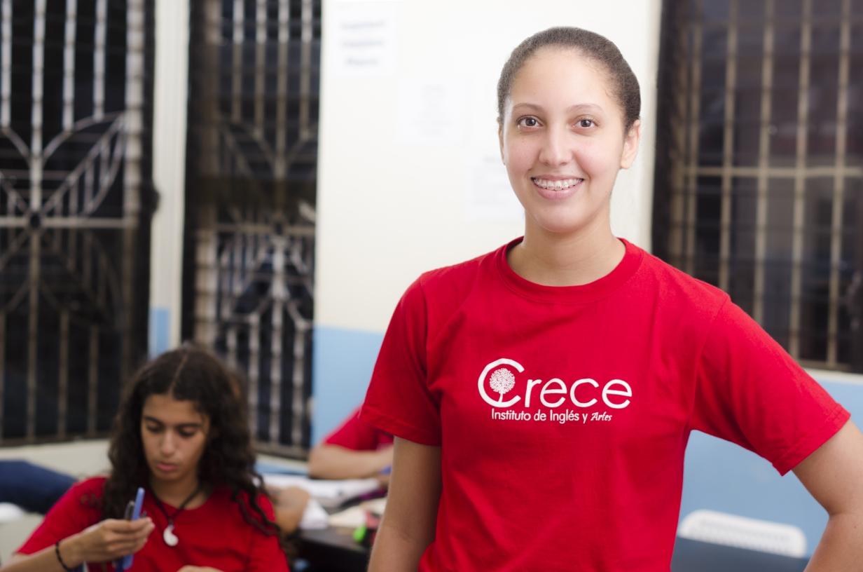 Carolyn Guzman, estudiante del Programa de Teens.