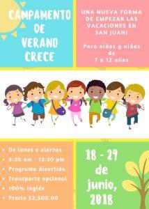 Crece Summer Camp @ Instituto Crece